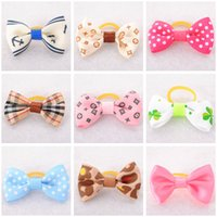apparel boutiques - Dog Apparel Pet Products Dog Grooming Accessories Hairpins Cat Hair Clips Brand New DIY Dog Hair Bows Boutique Retail