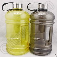 Wholesale 24pcs CCA4419 High Quality Multi Color Environmental Portable Litre Half Gallon Gym Workout Training Fitness Water Jug Drink Bottle