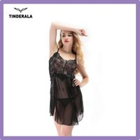 Wholesale Sexy Lingerie Mesh Lingerie Sleevesless Sexy Babydoll V Neck Low Bosom Sexy Lingerie for Teen Girls