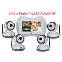 7 pollici di video di bambino sorveglianza digitale wireless monitorare 4 segmentazione di immagini e la più grande carta di supporto 32 GB per collegare il computer di rem