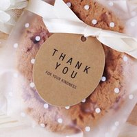 Wholesale Kraft thank you tags Hang tags Wedding hang tags Gift tags