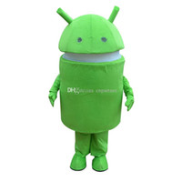 andrews movie - Hot Andrews robot Mascot Costume Cartoon Doll Suit Adult Size Fancy Dress Party Carnival costume