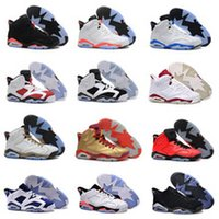 Cheap 2016 New Free Shipping Retro 6 basketball shoes Cheap retro 6 Carmine Sneaker Sport Shoe,For Online hot Sale US size 8 - 13