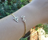 artifacts for sale - Hot Sale Personalized Harry Potter Eyes Death Artifact Bracelets Bangles For Women SL0030
