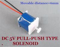Wholesale V DC Pull Push Type Electromagnet Frame Type Electromagnet Solenoid Stroke