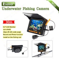 Wholesale quot Monitor M HD degrees IR LED Underwater Fishing Camera DVR Recorder Photo Portable Fish Finder
