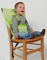 Wholesale Candy colors baby Portable Seat Cover Sack n Seat Kids Safety Seat Cover Baby Upgrate Baby Eat Chair Seat Belt Z0100C