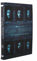 Wholesale 2016 New hot Game of thrones season6 whole full Set Version Complete series DVD Boxset New free DHL