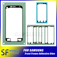 Wholesale Original New Front Frame Screen Sticker Adhesive Glue For Samsung Galaxy S2 S3 S4 S5 S6 S7 Edge Note2 Note3 Note4 Note5 Note Edge A3 A5 A7