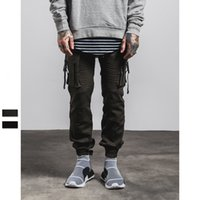 air force pants - 2016 autumn and winter new knitted garments Air Force zipper pants side pocket pants design joggers roshe run leisure pants