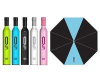 Wholesale Bottle Umbrella Fashion Umbrella Wine Bottle Umbrella Folding Umbrella