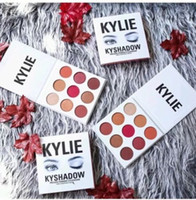 Wholesale The BURGUNDY PALETTE KYSHADOW Kylie Jenner Newest Kyshadow Eyeshadow Of Your Dreams Makeup Eye Shadow Free DHl Shipping