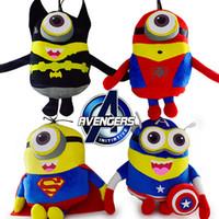 Precio de Superhéroes juguetes de peluche-El ccsme libre que envía los juguetes de la felpa de los secuaces de los minionistas del héroe de los vengadores de los muñecos