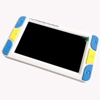 Wholesale 5 quot LCD Display Low Vision Video Magnifier Electronic Reading aid Digital Handheld portable Video Camera