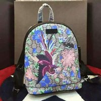 beauty cartoons - The natural beauty of the Phoenix and the freedom of love to describe the bird and tropical plant design backpack