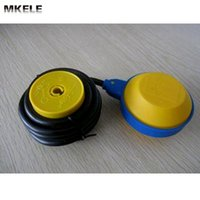 Wholesale New High Quality Water Cable Float Switch with yellow color float and PVC cable