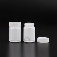 bamboo medicine - x g Wide Mouth White Plastic Pill Bottle Bamboo Shape PE Containers For Pharmaceutical Medicine Capsule