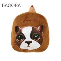 baby boy schoolbag - New cute cartoon animal kids plush backpack toys mini schoolbag Children s gifts kindergarten boy girl baby student bags Mochila