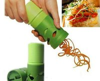 Wholesale kitchen tool Veggie Twister Easy Garnish Fruit and Vegetable Processing Device Cutter Drawknife Slicer Graters
