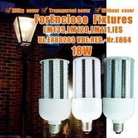 high lumen led - High Lumen LED Bulbs W E26 E27 E39 E40 LED Corn Bulb Without Transparent Milky Lens Lamp AC100 V Self Cooling Device