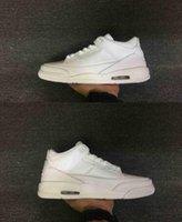 air pur - Air Retro III White Pur True Blue Cyber Monday Black White Man Basketball Shoes AAAA High Quality Size US