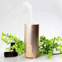 Wholesale Mini ml Car Air Humidifier Difusor De Aroma Diffuser USB Ultrasonic Humidifier Essential Oil Diffuser Mist Maker Fogger