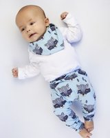 Wholesale 2016 Four Seasons INS baby boy pants children pants harem pants baby boy pants fox head printing