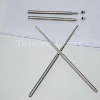 Wholesale Outdoor tableware solid Foldable Titanium chopsticks camping picnic hiking titanium chopsticks pair