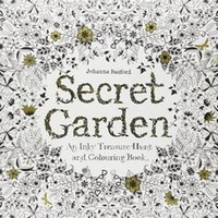 Wholesale New Secret Garden An Inky Treasure Hunt and Coloring Book For Children Adult Relieve Stress Painting Drawing Book