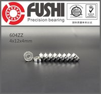 Wholesale 604ZZ ABEC x12x4MM Miniature Ball Bearings Z EMQ quality