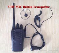 Wholesale Walkie Talkie FM Transceiver Flashlight MHz Cooperate with wireless MINI MIC UHF
