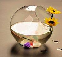 bamboo home accessories - 4pcs Diam cm Oblique opening transparent glass vase flower hydroponic aquarium Modern minimalist home accessories mm