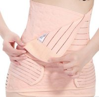 Wholesale Stomach Band Corset - 3pcs Set Belly Band Corset Belts Maternity Women Waist Support Band Stomach Band Belly B4068