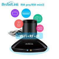 Wholesale Broadlink RM mini3 RM Pro RM2 Universal Smart Home Automation Intelligent Control WIFI IR RF Switch Remote Control iOS Android