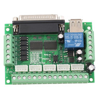 Cheap Original 5 Axes CNC Breakout Board w Optical Coupler For MACH3 Stepper Motor Driver Top Sale <US$10 no tracking