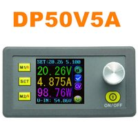 adjustable dc voltage regulator - DP50V5A Adjustable Voltage Regulator Constant Voltage Current Step down Power Supply Module color LCD Voltmeter