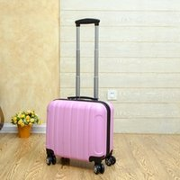 Wholesale 17 inch trolley case universal wheeled box password boxes men and women