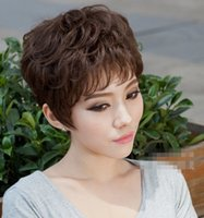 ako style - Synthetic Wig Good Quality New Fashion Women Short Straight Style Full Wig for Black Women AKO