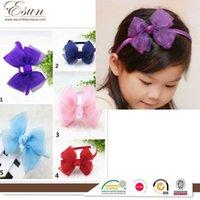 american steel supply - 2016 hot sale South Korean children hair children headband Bow Headband girl headdress jewelry supply