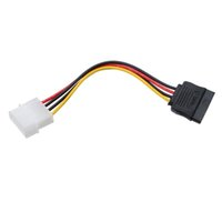 ata cord - 2015 New X Pin IDE Molex to Pin Serial ATA SATA Hard Drive Power Adapter Cable Cord
