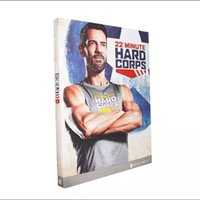 Wholesale 2016 In Stock Best Price Workout DVD Minute Hard Corps DVDs Workout Program mins Base Kit Exercise Videos Bodybuiding fitness DVD