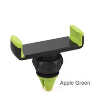 Wholesale Cheap GPS Car Phone Holders for iPhone Degrees Rotation Air Vent Mount Mobile Phone Car Holders for iPhone Samsung Sony Xiaomi HTC