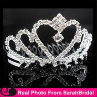 accessories missing - Rhinestone Miss Universe Queen Headwear Crowns Cheap Bridal Tiaras Wedding Party Prom Dresses Hair Comb Accessories Head Piece For Bride