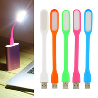 Wholesale Flexible Ultra Bright Mini LED USB Read Light Computer Lamp For Notebook PC Power Bank Partner Computer Tablet Laptop