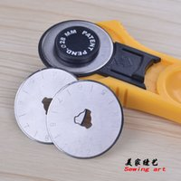 Wholesale 2014 Seconds Kill New Freeshipping White Adult Roller Cutter Blade Circle Cloth Round mm