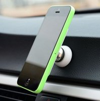 Wholesale Multi function magnetic vehicle mobile phone support holder vehicle with phone Samsung mobile universal magnet support patent product