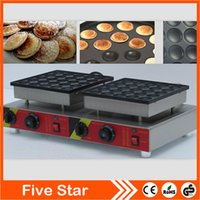baker pan - Electric Dutch Mini Pancakes Poffertjes Machine Baker Maker Iron Mold Pan NP543 by Hosalei