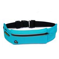 Wholesale Waterproof Nylon Unisex Crossbody Shoulder Bag Outdoor Climbing Bag Travel Bag Cycling Waist Bag Color