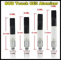 Wholesale BUD Touch Vaporizer WAX CBD Hemp Oil Atomizer Cartridge O Pen Vapor Smoking Mini Tank CE3 Clearomizer Kit