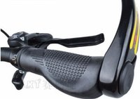 Wholesale Bicycle Handlebar Magnesium Alloy Horns Deputy To MTB Folding Grips Ergonomic Bicycle Vice Handlebar Ultralight Rest Vice Handle